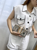 2020 new custom evening clutch bags lady handmade luxury diamond evening Dollar bag diamond bags