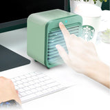 2020 Mini cooling fan portable desktop small air conditioner USB charging cooling fans