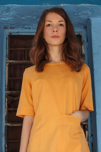 Sustainable Yellow Dress