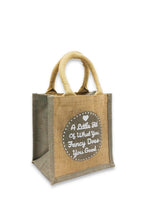 Load image into Gallery viewer, Sustainable Jute Bag For Lunch/Gift