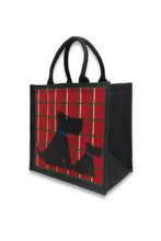 Load image into Gallery viewer, Animal Print Jute Bag