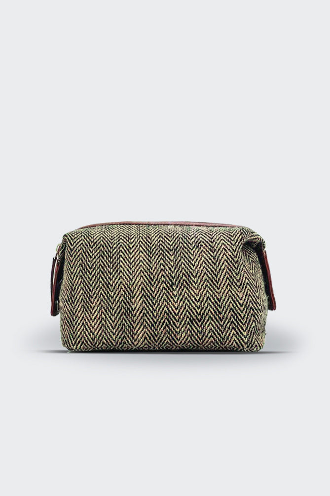Herringbone Toiletry  Bag