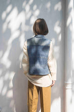 Load image into Gallery viewer, Deconstructed/Upcycled Denim Jacket - Folk