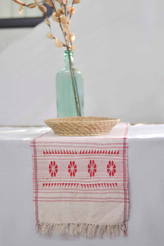 Handwoven Table Runner - Folk