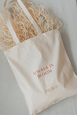 """Always in Bloom"" Tote Bag"