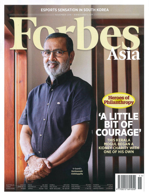 Asia's 2018 Heroes Of Philanthropy – Killiney's co-founder, Mr Woon Tek Seng and his brothers are listed in Forbes