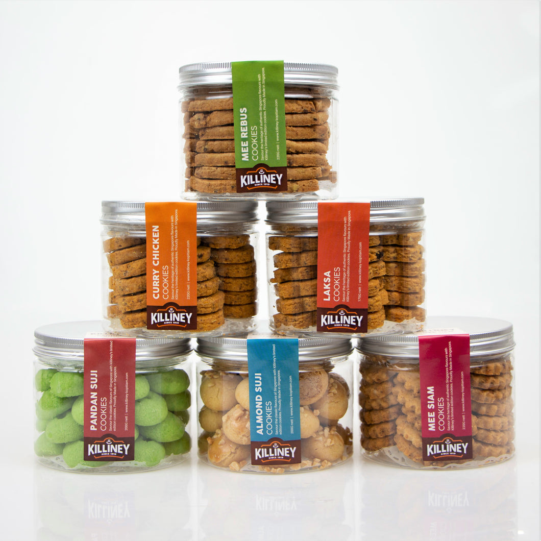 Killiney Cookies Bundle (Complete Set of 6) - Killiney Singapore