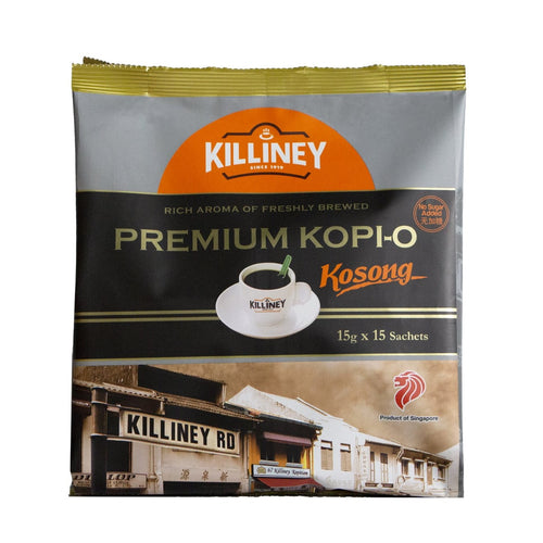 Killiney Premium Kopi-O Kosong - Killiney Singapore