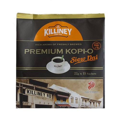 Killiney Premium Kopi-O Siew Dai - Killiney Singapore