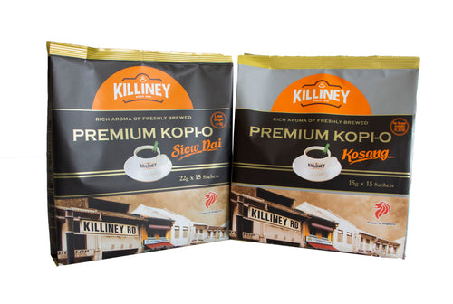 Killiney Premium Kopi-O Duo Bundle - Killiney Singapore