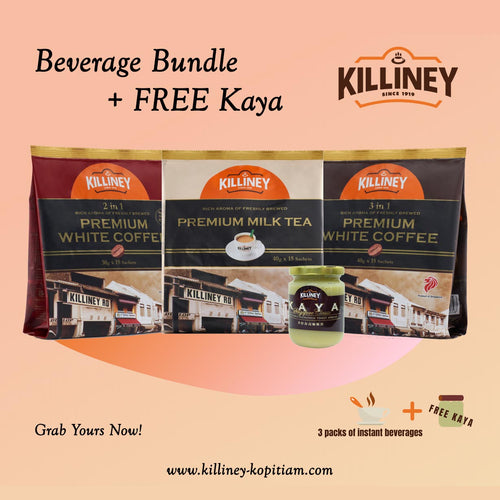 Beverage Bundle with Free Kaya - Killiney Kopitiam