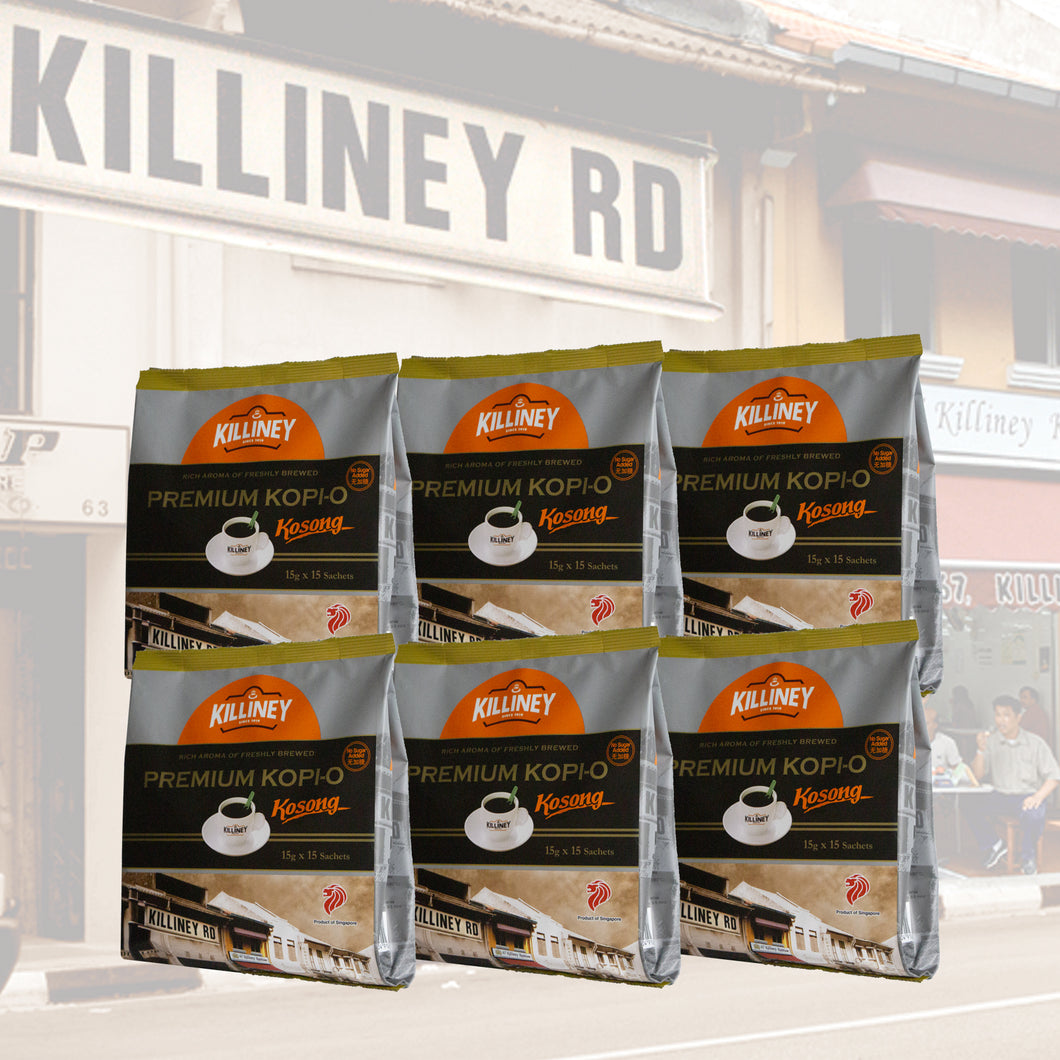 Killiney Premium Kopi-O Kosong Family Bundle - Killiney Kopitiam