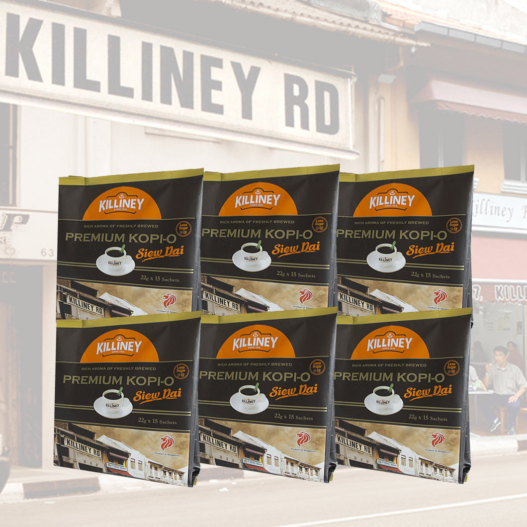 Killiney Premium Kopi-O Siew Dai Family Bundle - Killiney Kopitiam