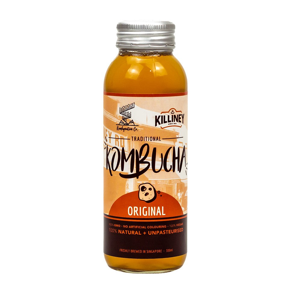 Killiney x Kombynation - Traditional Kombucha - Killiney Singapore