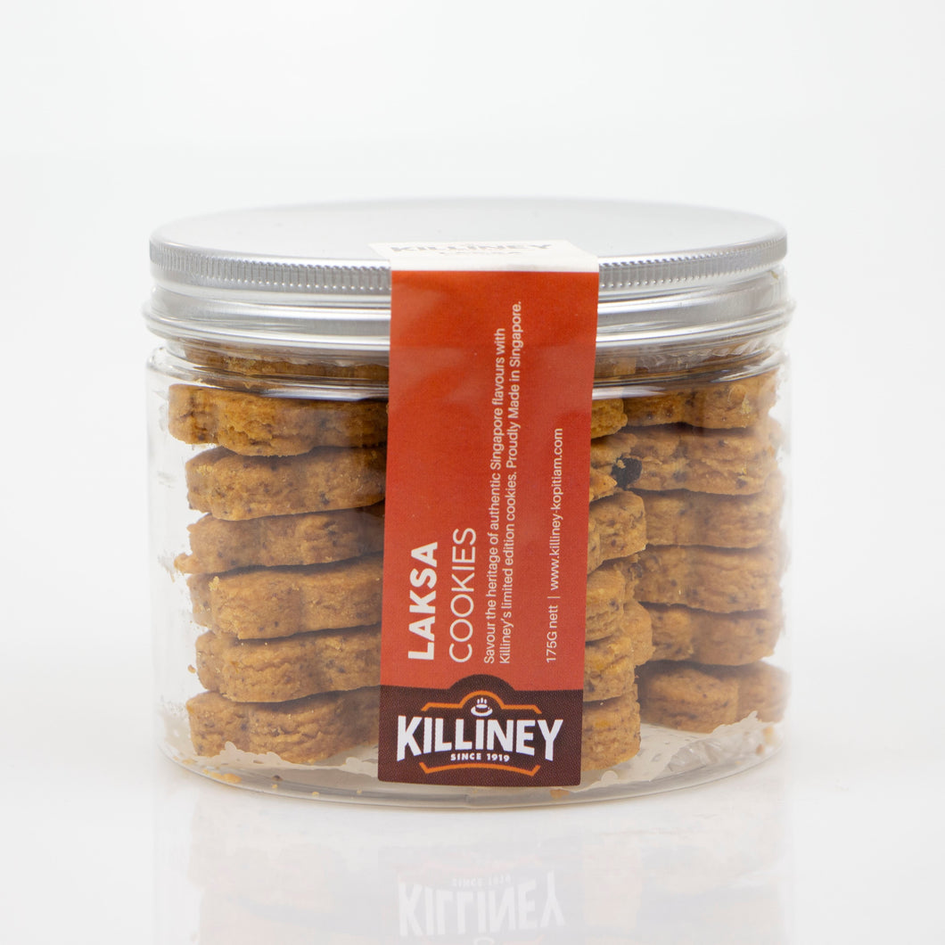 Killiney Laksa Cookies - Killiney Kopitiam