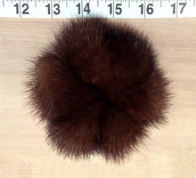 Load image into Gallery viewer, Mink Pom Pom Scrunchie Hair Tie, Various Color Options
