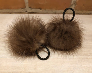 Real Mink Mini Pom Pom - Various Color Options, 2-Inch