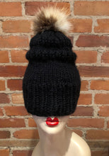 Load image into Gallery viewer, Recycled Fur Sandy Red Fox Pom Pom, Beige and Natural Red Fox Hat Pom, Baby Knit Hat Pom, 3.5-Inch, Small Detachable Fur Ball, Hat Accessory