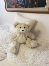 Load image into Gallery viewer, Pearl, the Ivory White Handmade Teddy Bear