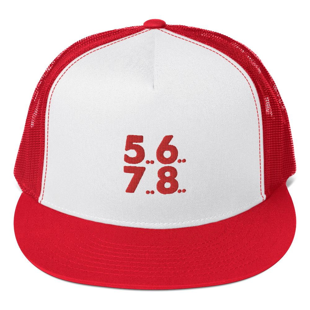 5..6..7..8 Trucker Cap - My Travel Shop