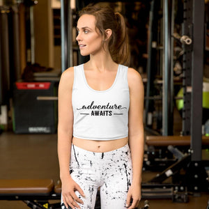 Adventure Awaits! Crop Top - My Travel Shop