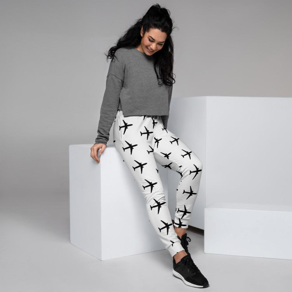 Airplane Women's Joggers - My Travel Shop