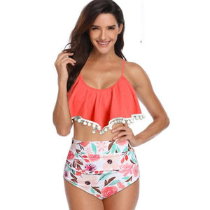 Bikini High Waist Suit - My Travel Shop