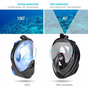 Full-face snorkeling mask - My Travel Shop