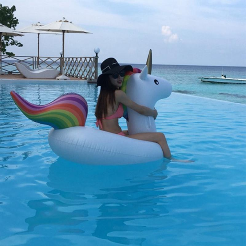 Giant Inflatable Unicorn Pool Float - My Travel Shop