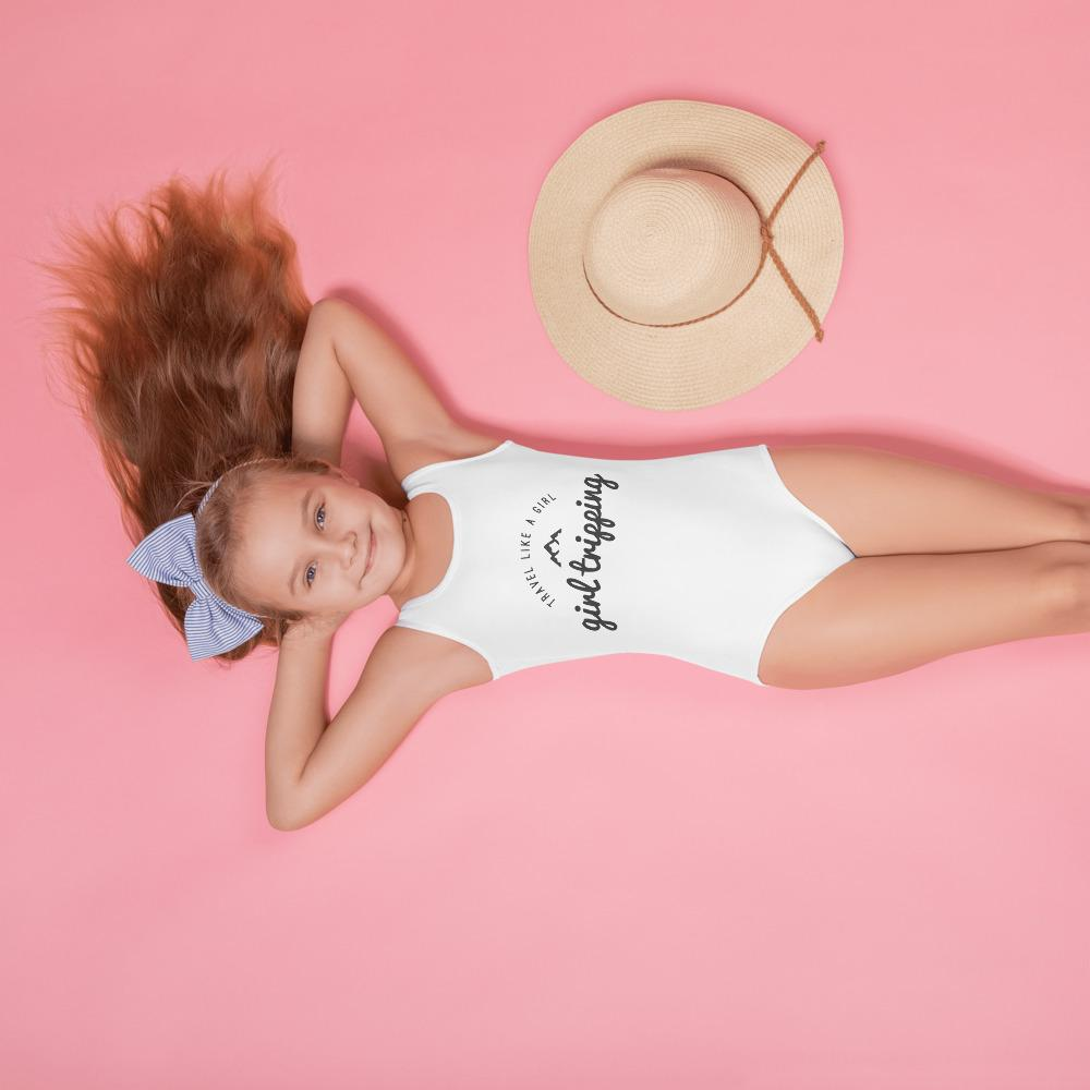 Girls Tripping! Kids Swimsuit - My Travel Shop