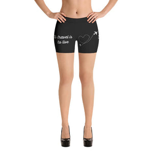 GTL Shorts Gym-Travel-Life Women's Perfect Fit - My Travel Shop