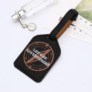 Leather Luggage Tags - My Travel Shop