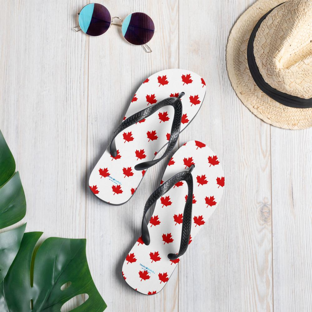 Maple Leaf Flip-Flops - My Travel Shop