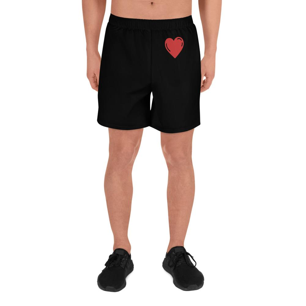 Men's Heart Shorts - Perfect for vacations or staycations. Exclusive Item - My Travel Shop