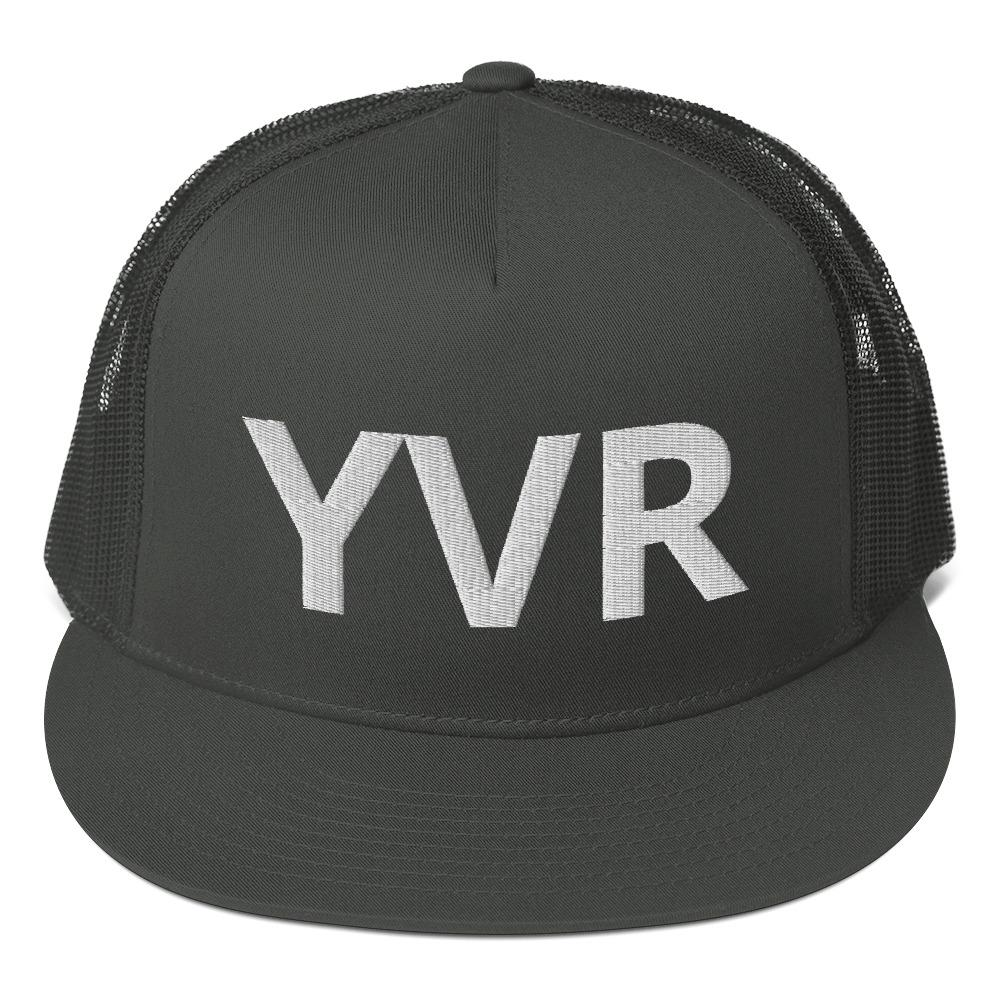 Mesh Back Snapback YVR Vancouver Proud - My Travel Shop