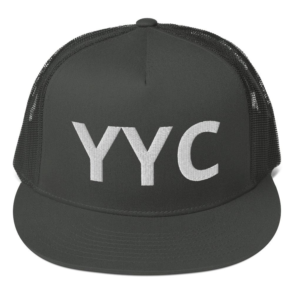 Mesh Back Snapback YYC Calgary Proud - My Travel Shop