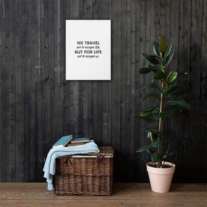 Travel Quote Canvas - My Travel Shop