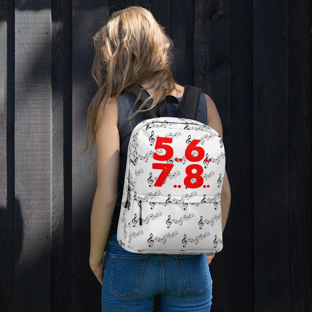 Music 5..6..7..8.. Backpack - My Travel Shop