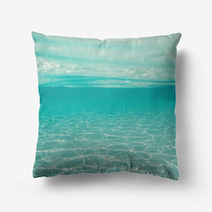 Ocean Premium Hypoallergenic Throw Pillow - My Travel Shop