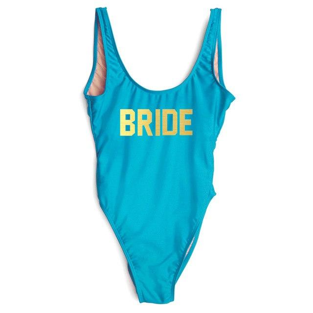 One Piece Swimsuit BRIDE - My Travel Shop