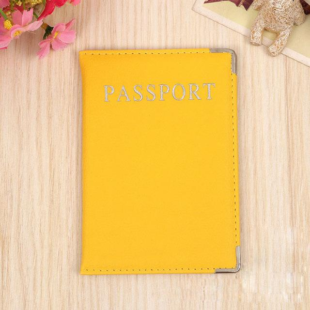Passport Cover Candy Colors - My Travel Shop