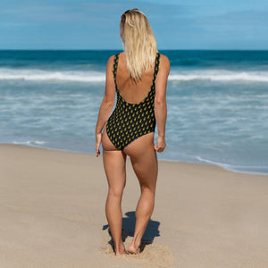 Pineapple One-Piece Swimsuit - My Travel Shop