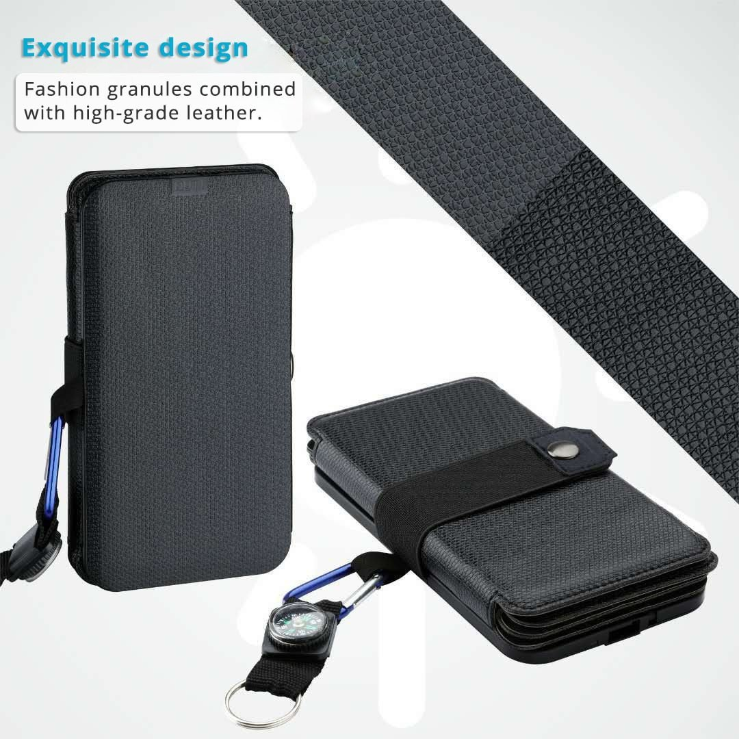 Portable Folding 10W Solar Panels Charger 5V 2.1A USB Output Solar Cells for Cellphones Outdoors - My Travel Shop