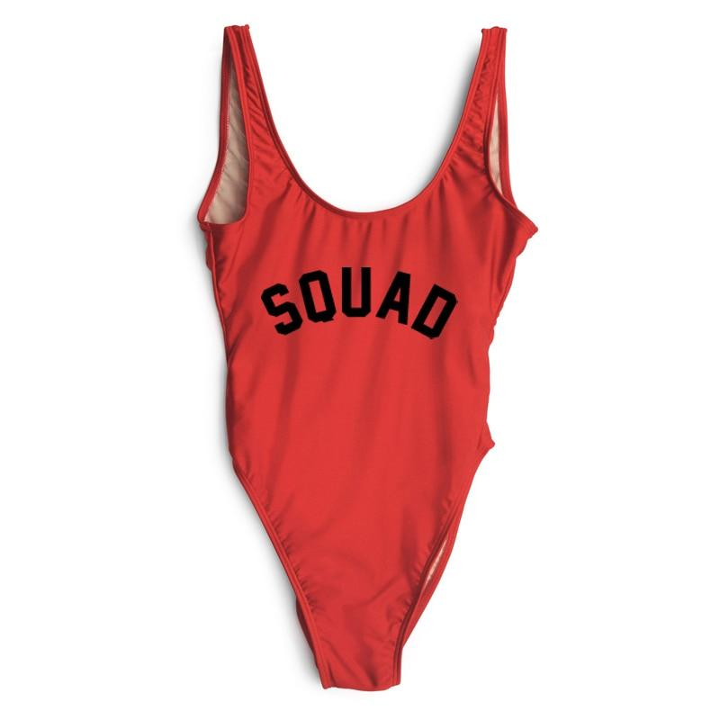 SQUAD One Piece Swimsuit - My Travel Shop