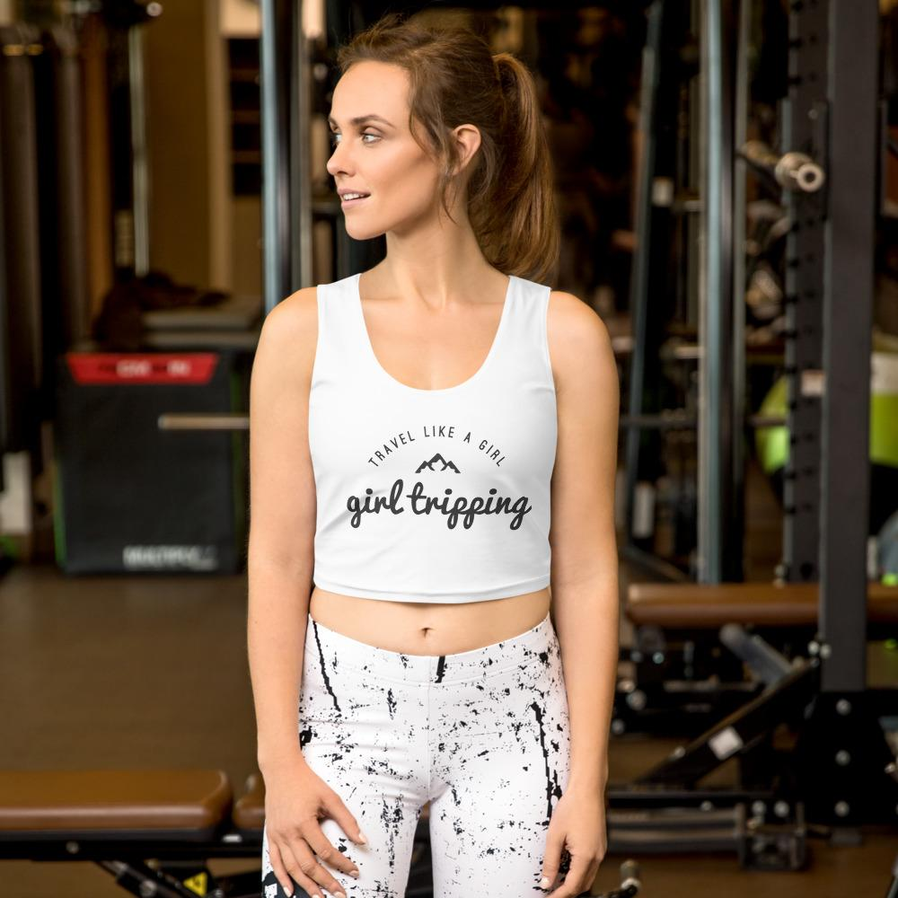 Travel Like A Girl Crop Top - My Travel Shop