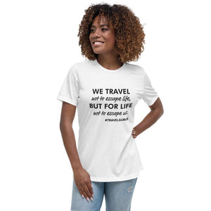 Women's Relaxed T-Shirt - My Travel Shop