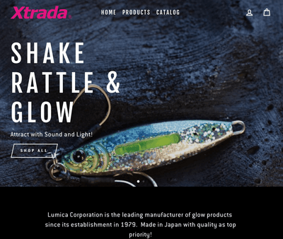 Grand Opening of FishXtrada.com, Lumica USA Online Store for JDM Fishing Tackle