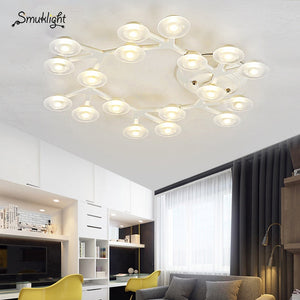 Ceiling Lights LED Dome Light Plum Blossom Lamp Metal Acrylic LED Lamp Sitting Room Dining-room Indoor Decoration Lighting