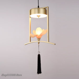 Creative Chinese Small Pendant Lights Modern Restaurant Bar Hanging Lamp Personality Balcony Art Home Decor Light Fixtures