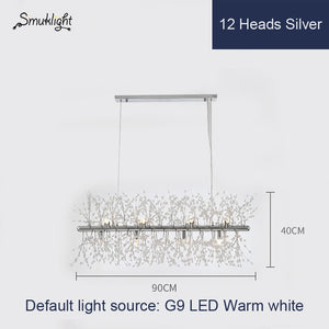 Dandelion Chandeliers Lighting Dining Room Bedroom Exhibition Hall Living Room LED White Light Pendant Hanging Lamp